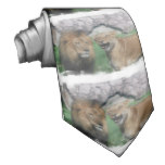 Mom and Dad Lion Tie