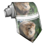 Prowling Lion Tie